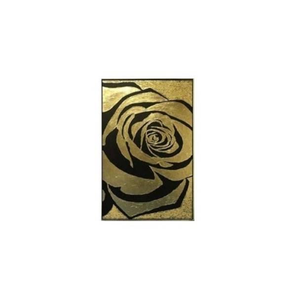 خرید                      تابلو ورق طلا مدل گل رز کد 626205