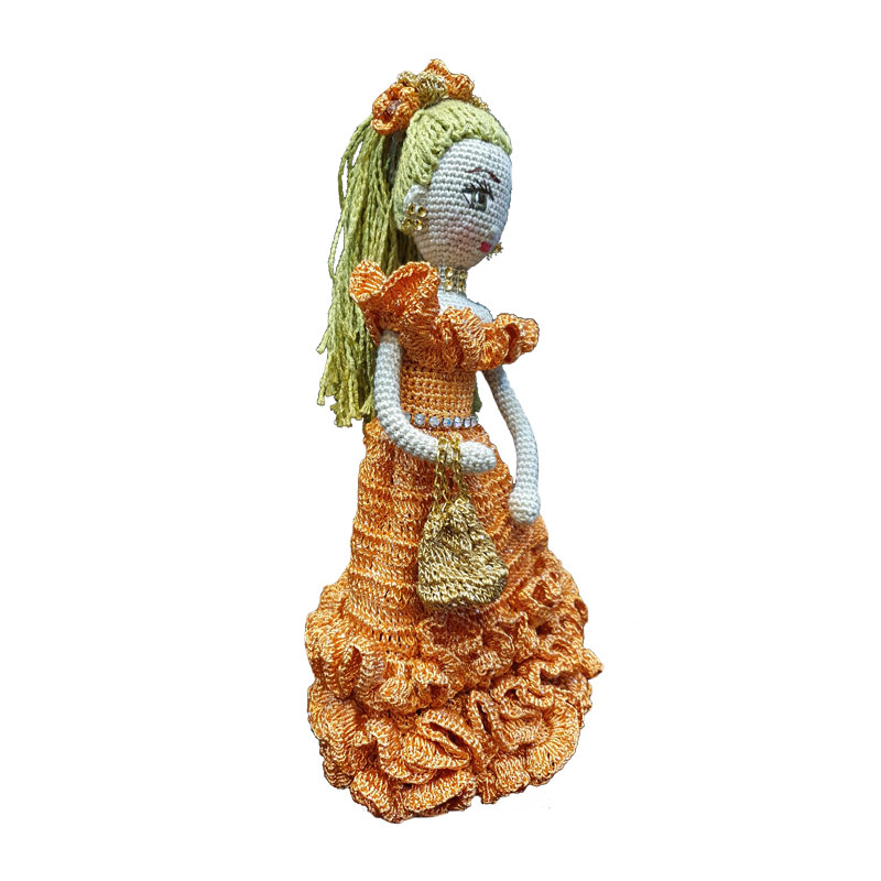 خرید                      عروسک بافتنی مدل دلسی