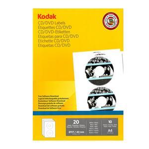 برچسب چاپ سی دی و دی وی دی کداک مدل 204-4027 بسته 20 عددی