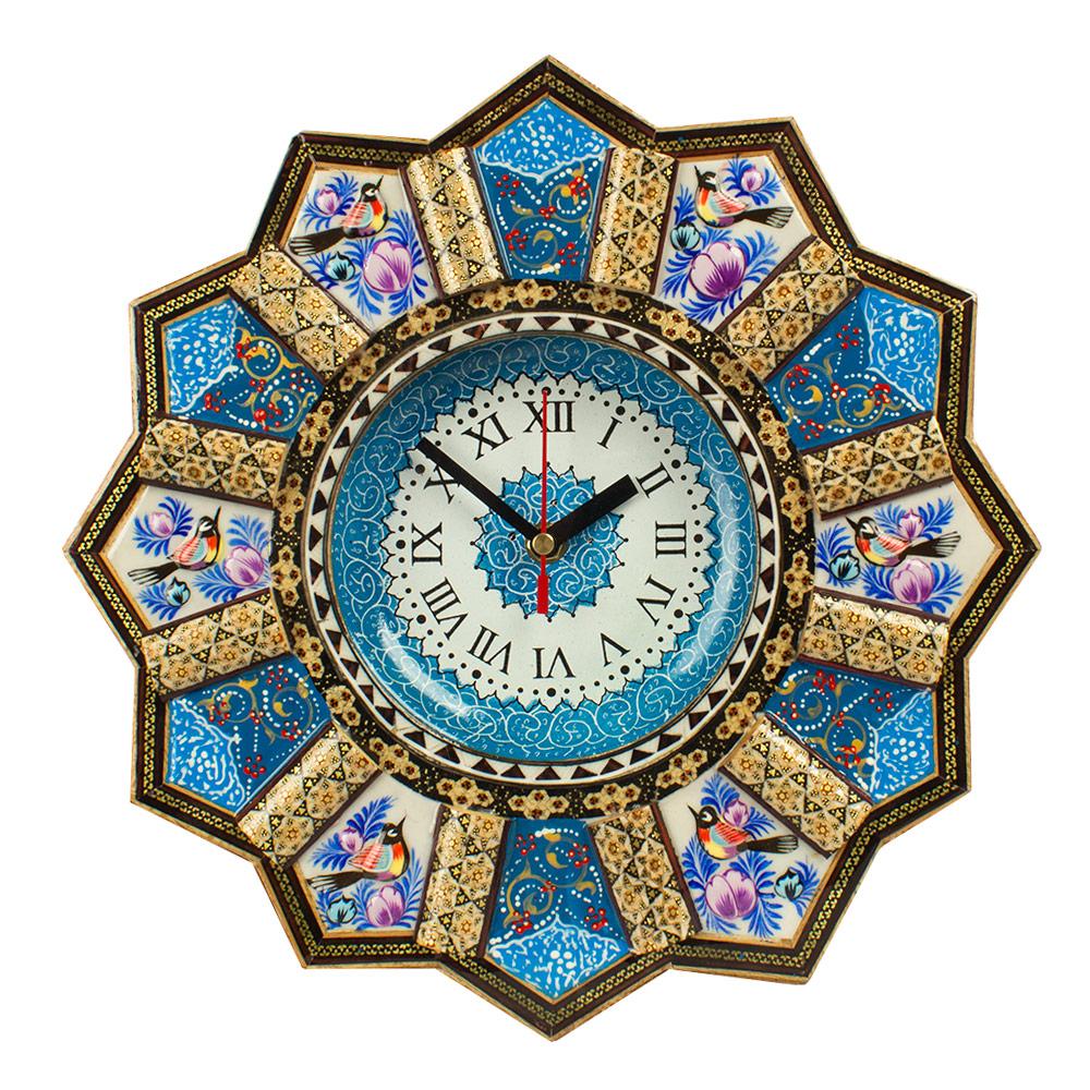 خرید                      ساعت خاتم کاری مدل خورشیدی کد 32