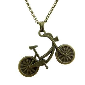 گردنبند طرح دوچرخه کد 055