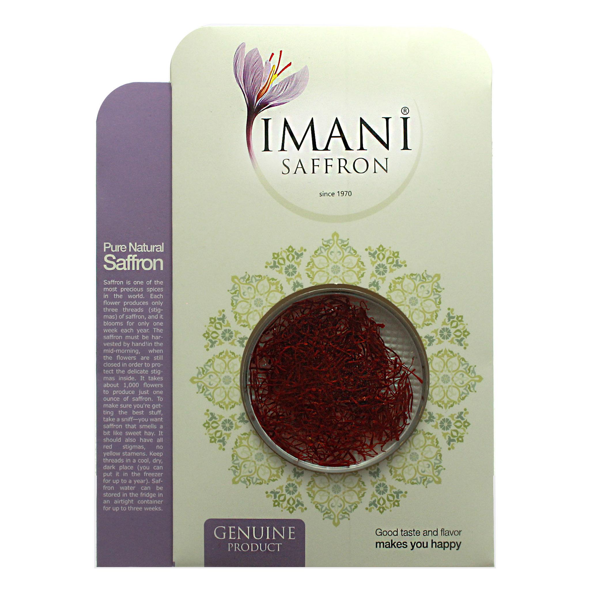 زعفران سرگل ایمانی - 1 گرم