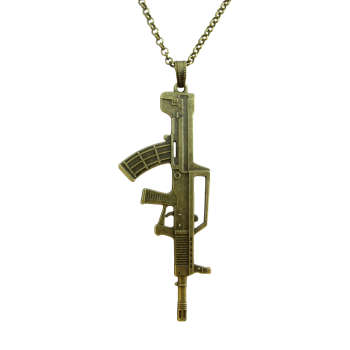 گردنبند طرح اسلحه QBZ-95 کد 060