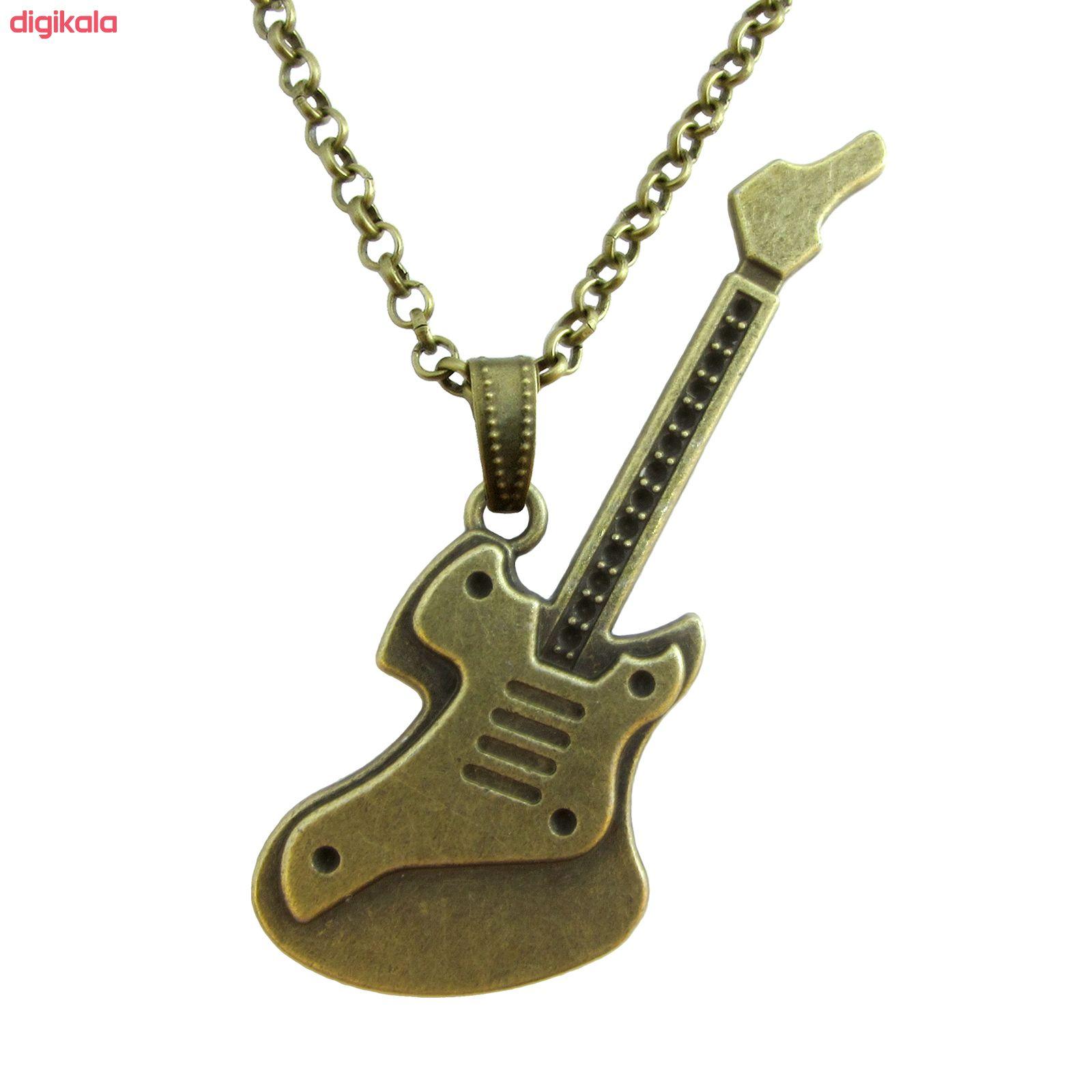 گردنبند طرح گیتار کد 062 main 1 1