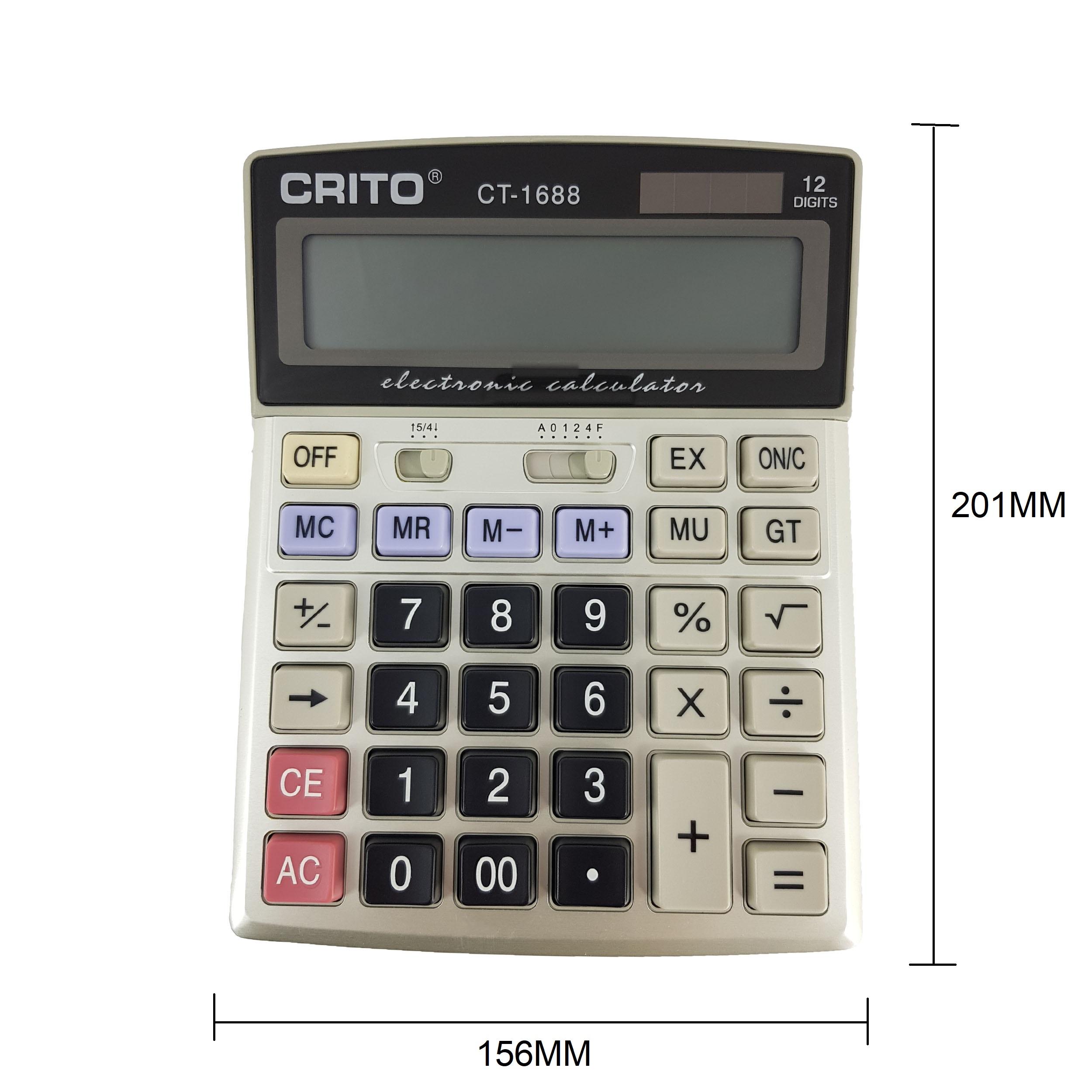 قیمت                      ماشین حساب کریتو مدلCT-1688