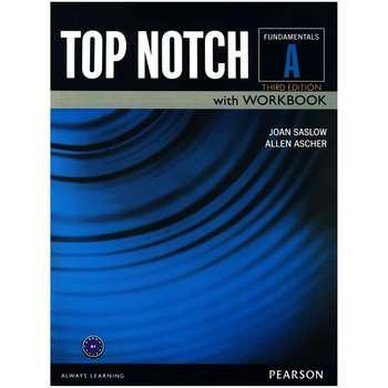 کتاب Top Notch Fundamentals A اثر JOAN SASLOW and ALLEN ASCHER انتشارات Pearson