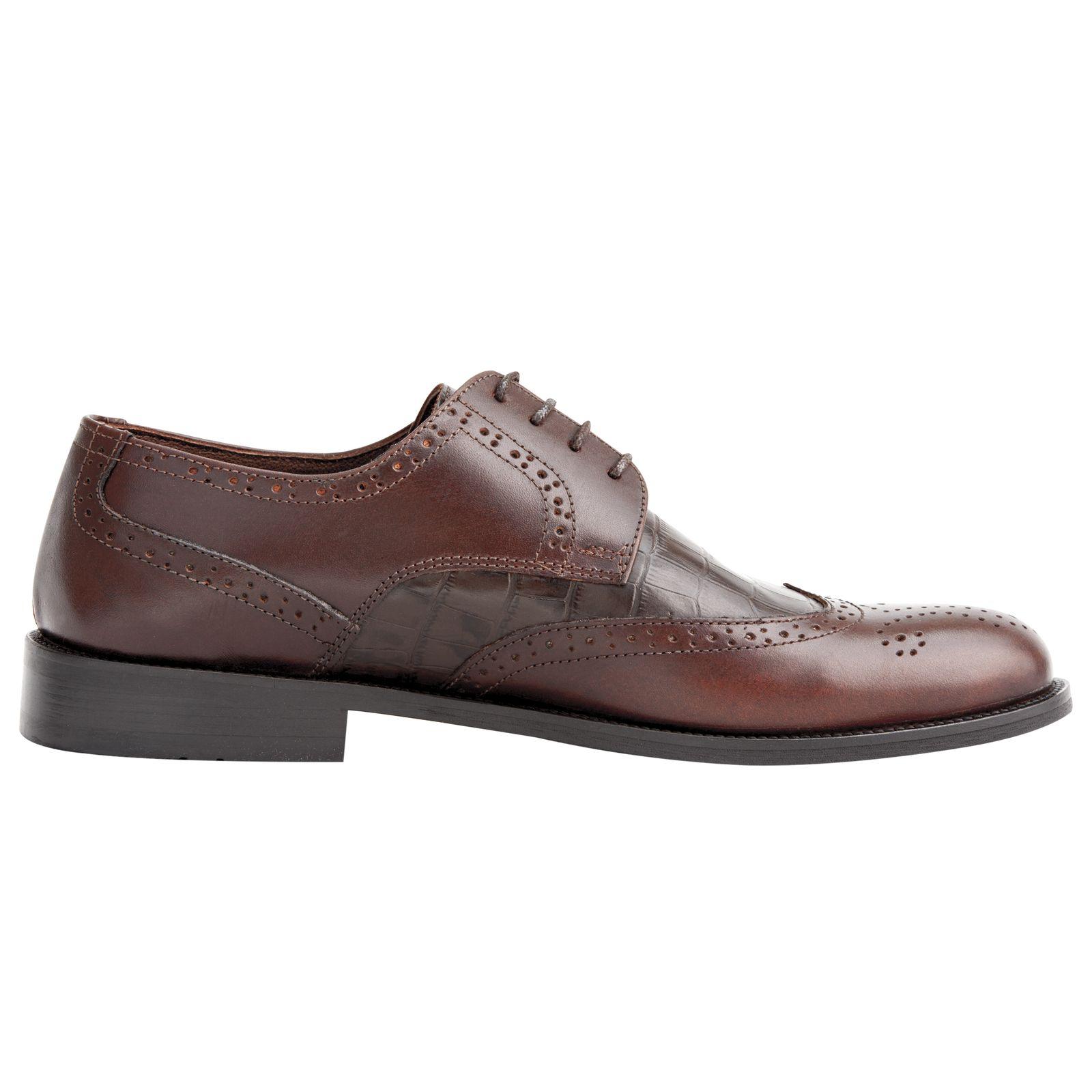 کفش مردانه فری مود کد 1518 رنگ قهوه ای -  - 4