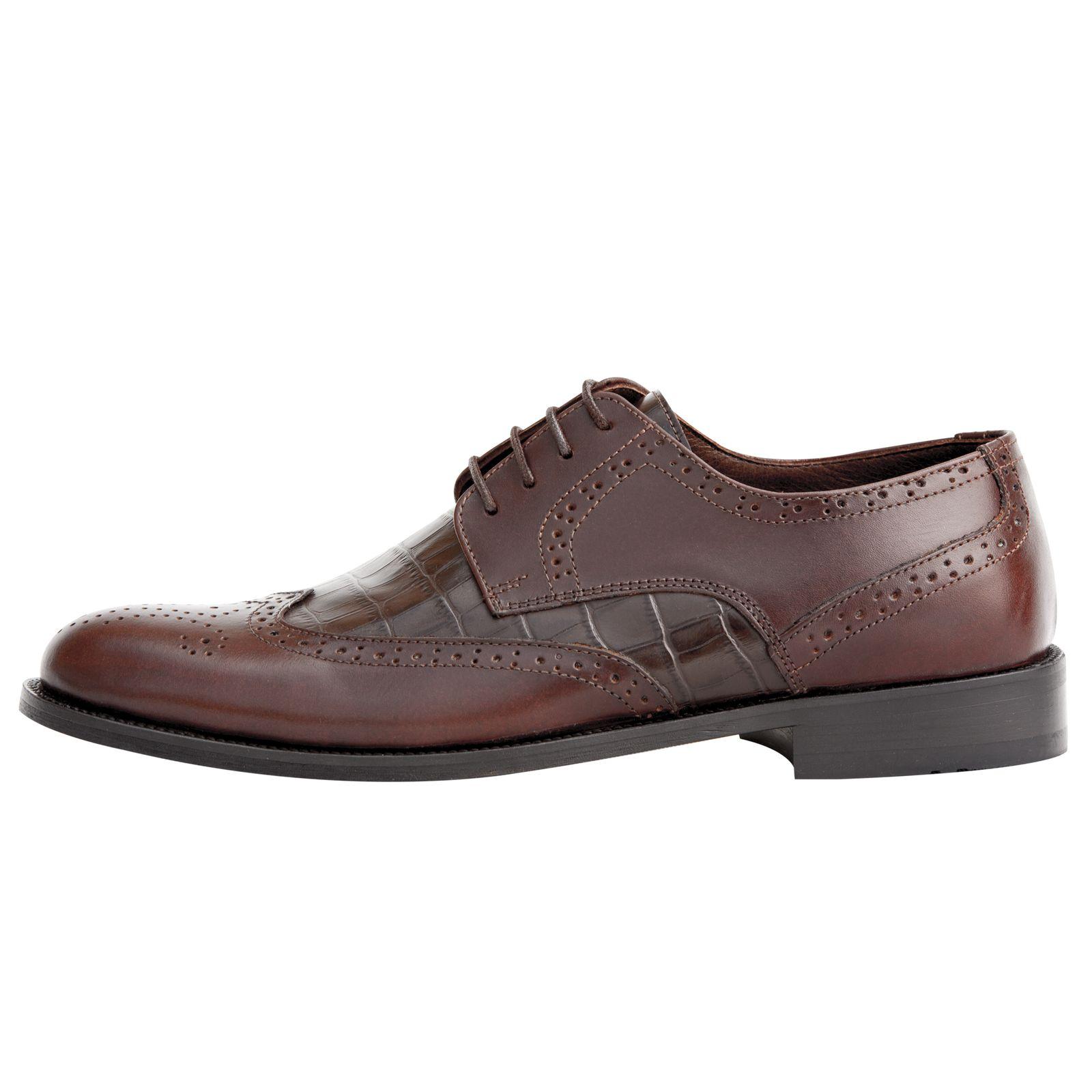 کفش مردانه فری مود کد 1518 رنگ قهوه ای -  - 2