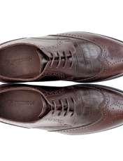 کفش مردانه فری مود کد 1518 رنگ قهوه ای -  - 3