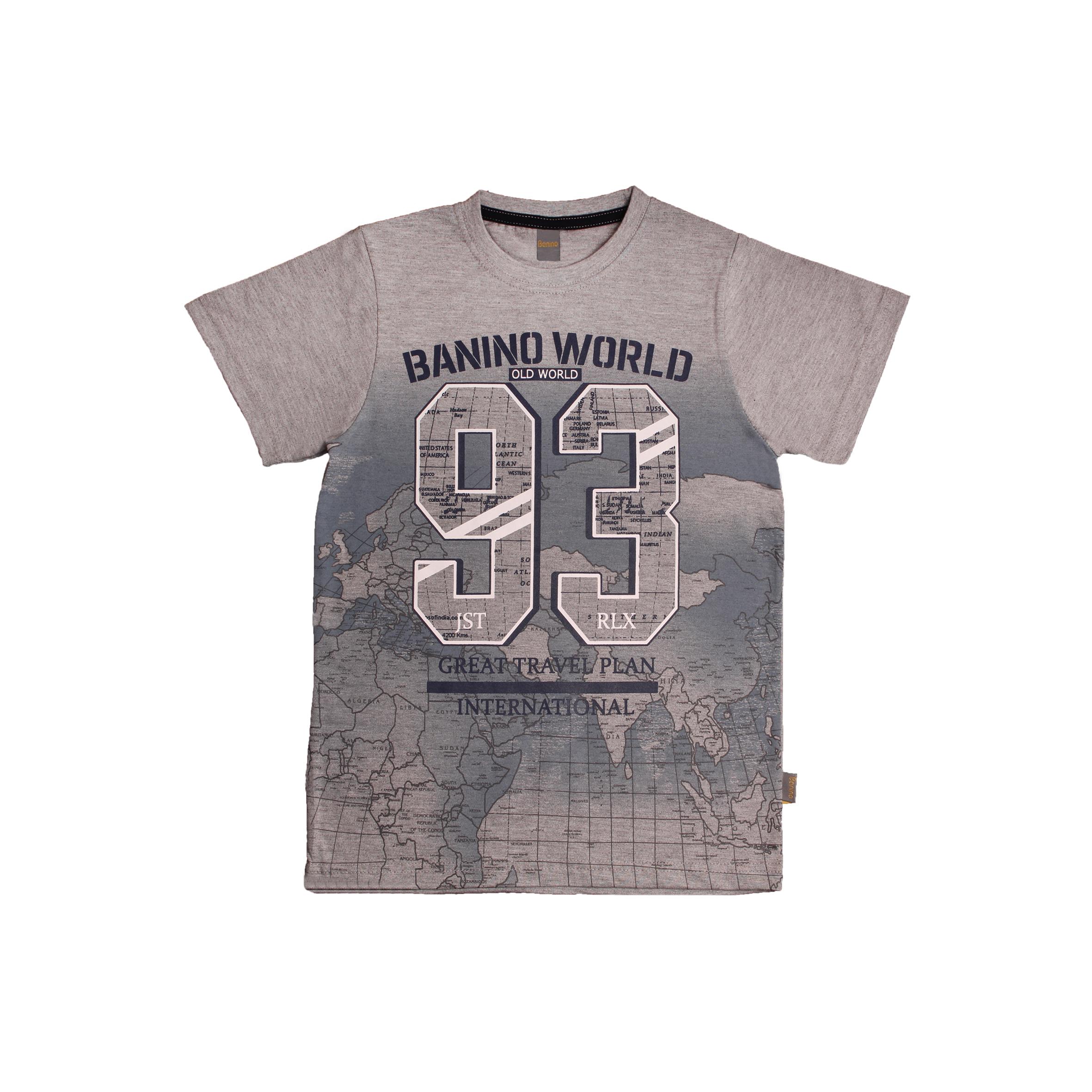 تی شرت پسرانه بانی نو کد 56795