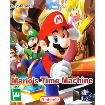 بازی MARIOS TIME MACHINE  مخصوص PS1