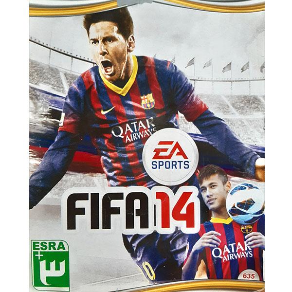 خرید اینترنتی بازی FIFA 14 مخصوص PS2 اورجینال