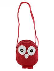 کیف دوشی دخترانه طرح جغد مدل n1 -  - 1
