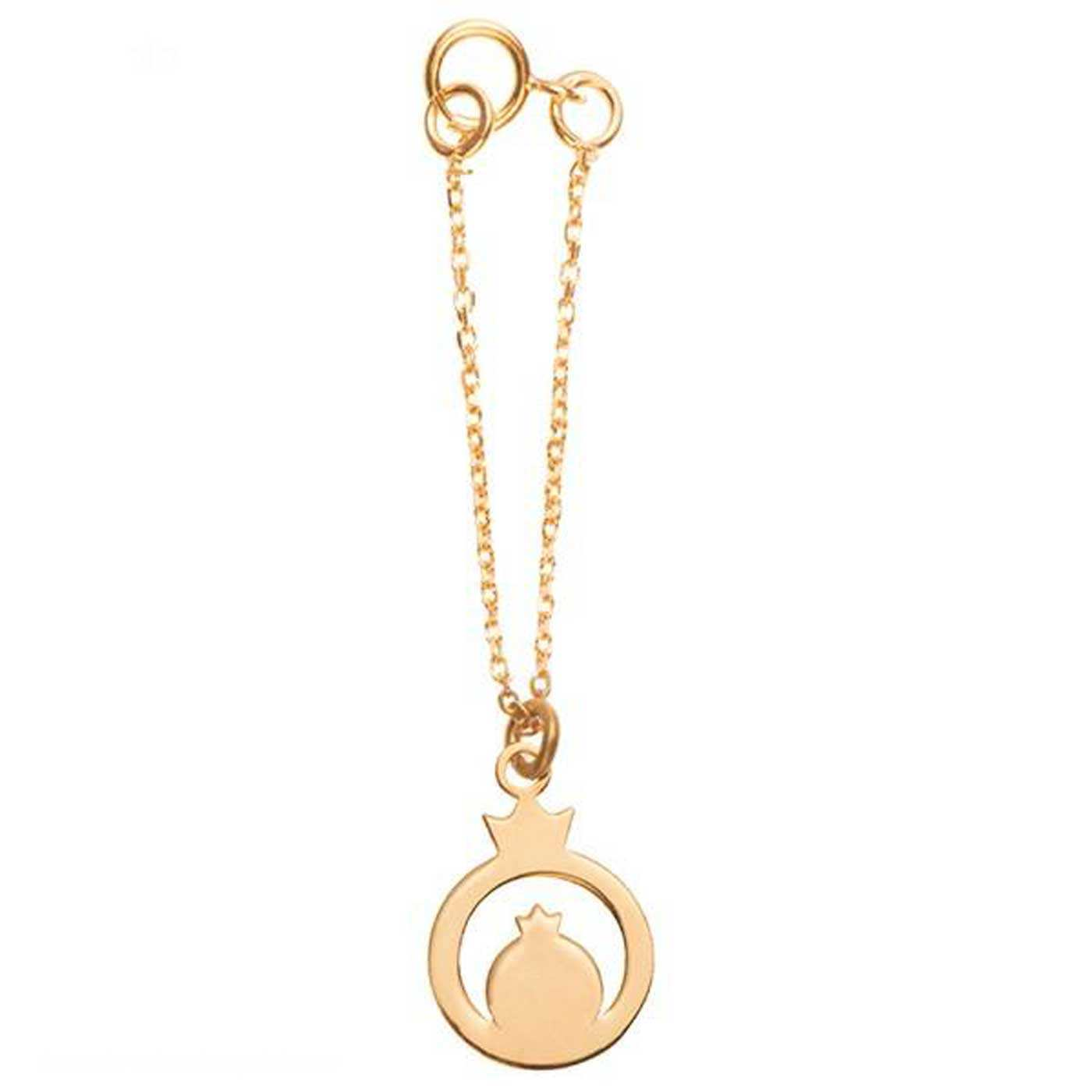 آویز ساعت طلا 18 عیار زنانه کانیار گالری کد AS152 -  - 1