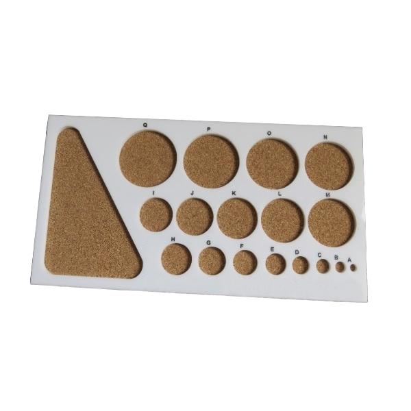 خرید                      تخته ملیله کاغذی مدل دایره کد QB1