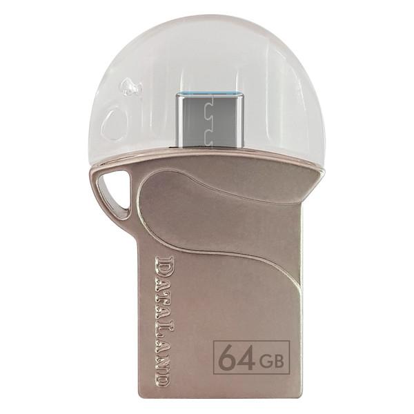 فلش مموری OTG دیتالند مدل DL500 ظرفیت 64 گیگابایت