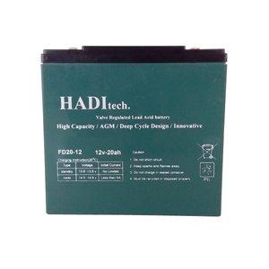 باتری موتور سیکلت هادیتک مدل FD12V20 بسته ۵ عددی