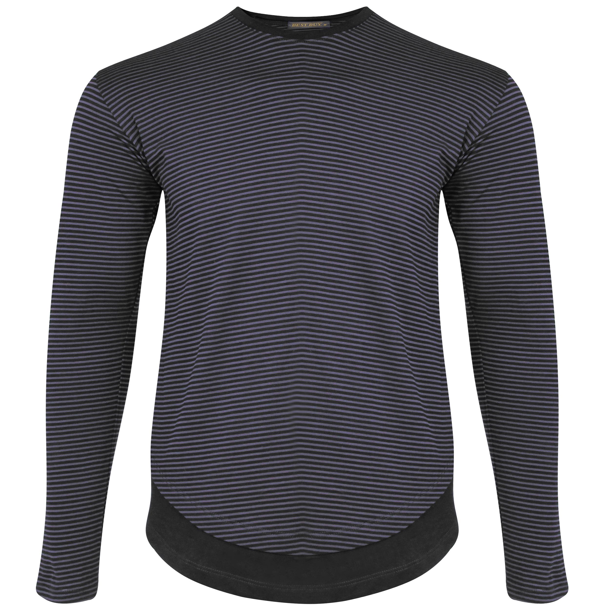 تی شرت آستین بلند مردانه بست بای کد 522-2