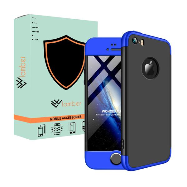کاور 360 درجه لمبر مدل LAMGK-1 مناسب برای گوشی موبایل اپل Iphone 5/5S/SE