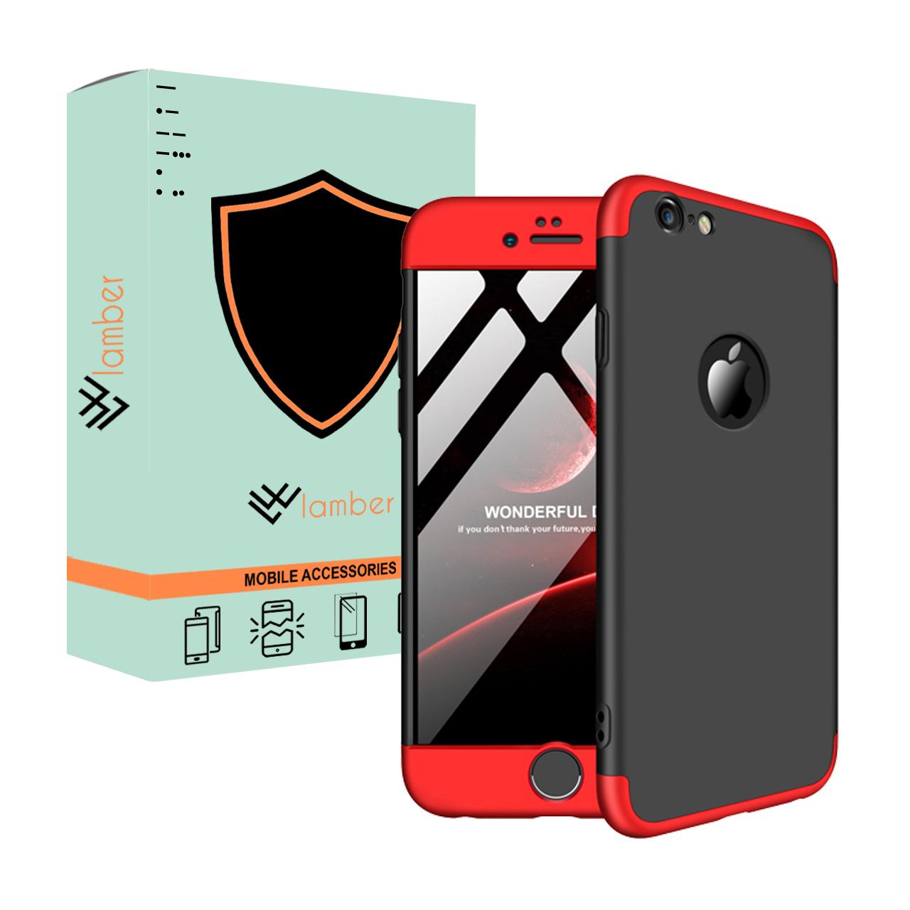 کاور 360 درجه لمبر مدل LAMGK-1 مناسب برای گوشی موبایل اپل Iphone 6 Plus/6S Plus