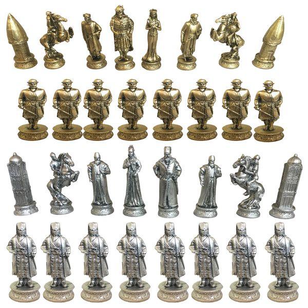 مهره شطرنج کد RZ999 مجموعه 32 عددی
