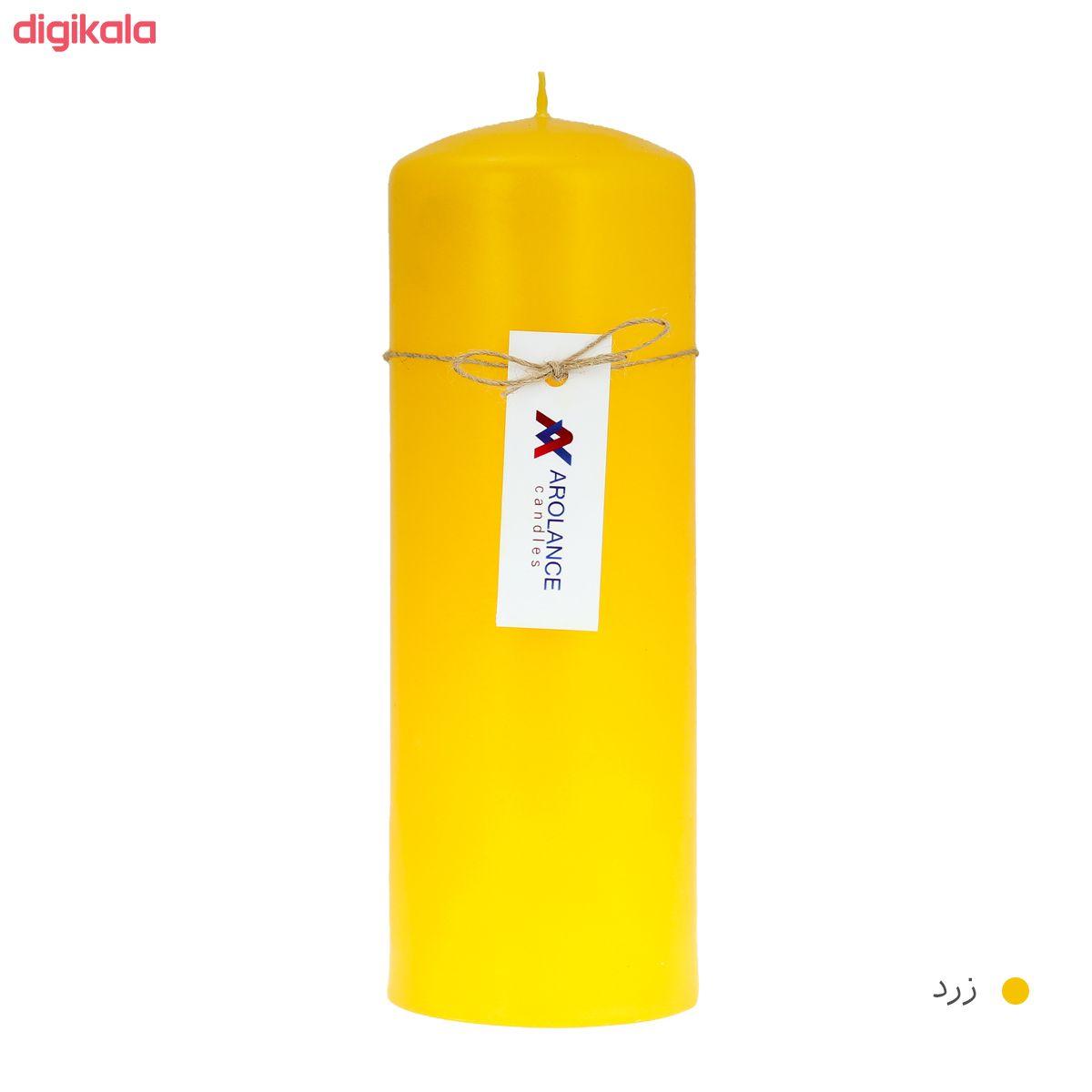شمع آرولنس طرح استوانه مدل D720 main 1 6