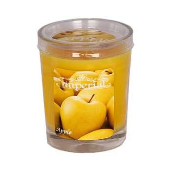 شمع لیوانی ایمپریال مدل Apple