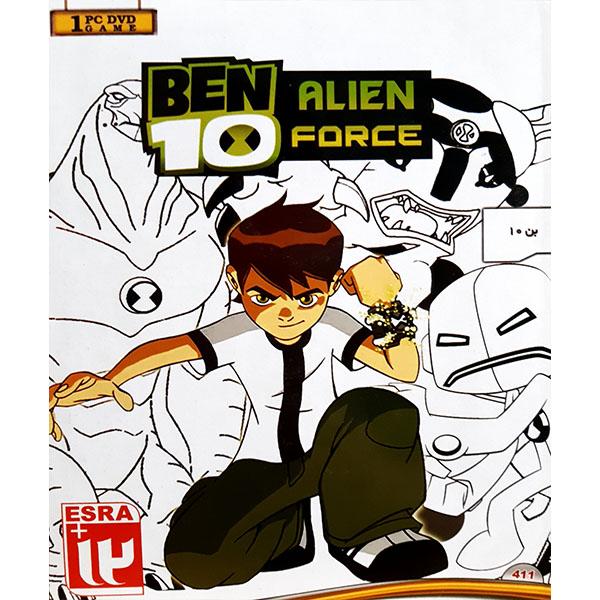 خرید اینترنتی بازی BEN10 ALIEN FORCE مخصوص PC اورجینال