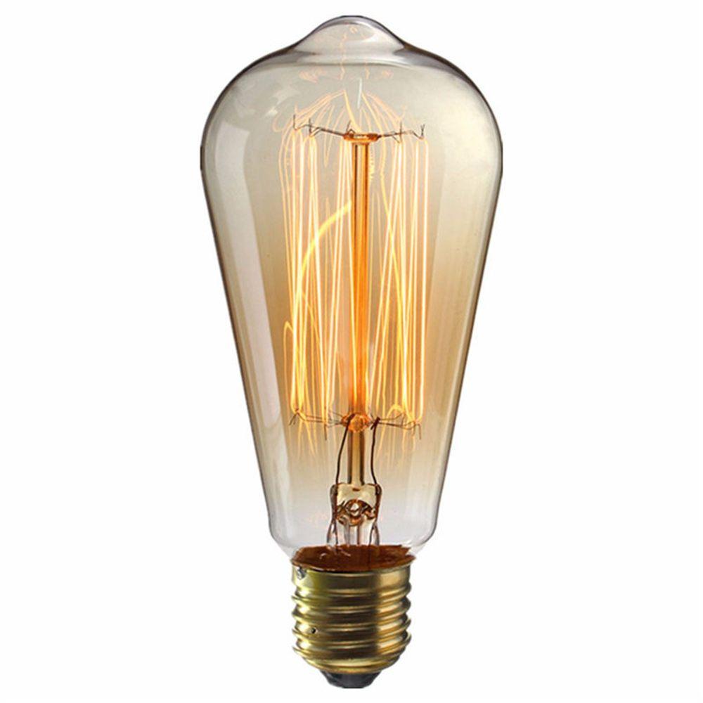 لامپ ادیسونی 40وات مدل st64 پایه E27