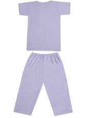 ست تی شرت و شلوارک زنانه کد 502 -  - 1