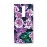 برچسب پوششی ماهوت مدل Purple-Flower مناسب برای گوشی موبایل ال جی Magna
