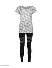ست تیشرت و شلوار زنانه کد  65059 -  - 1