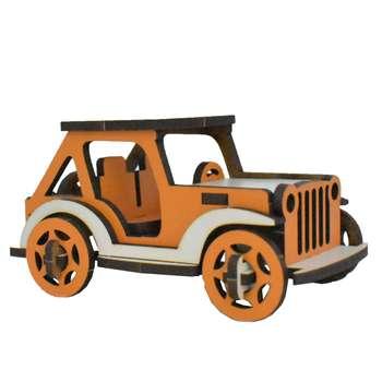 ماکت دکوری طرح ماشین جیپ