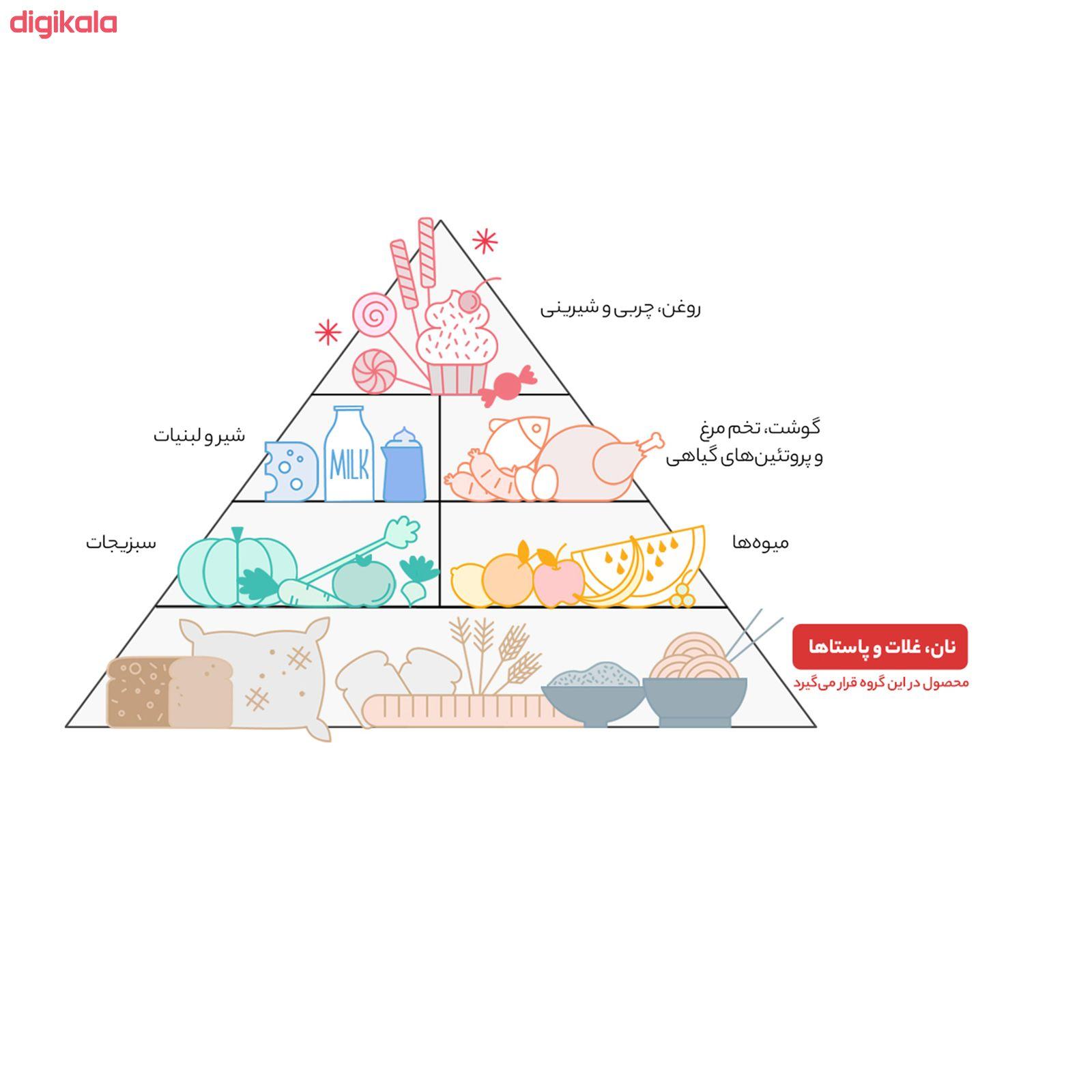 کینوا سه رنگ ارگانیک اُ آ ب - 250 گرم  main 1 6