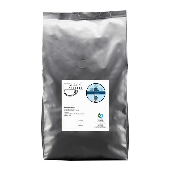 دانه قهوه باریستا بلک کافی - 1000 گرم
