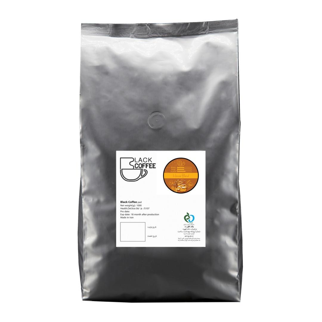 دانه قهوه هاوس بلند بلک کافی - 1000 گرم