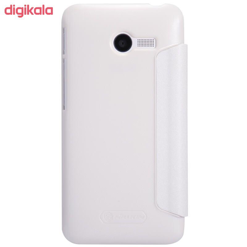 کیف کلاسوری نیلکین مدل New Leather Sparkle مناسب برای گوشی موبایل ایسوس Zenfone 4 main 1 6