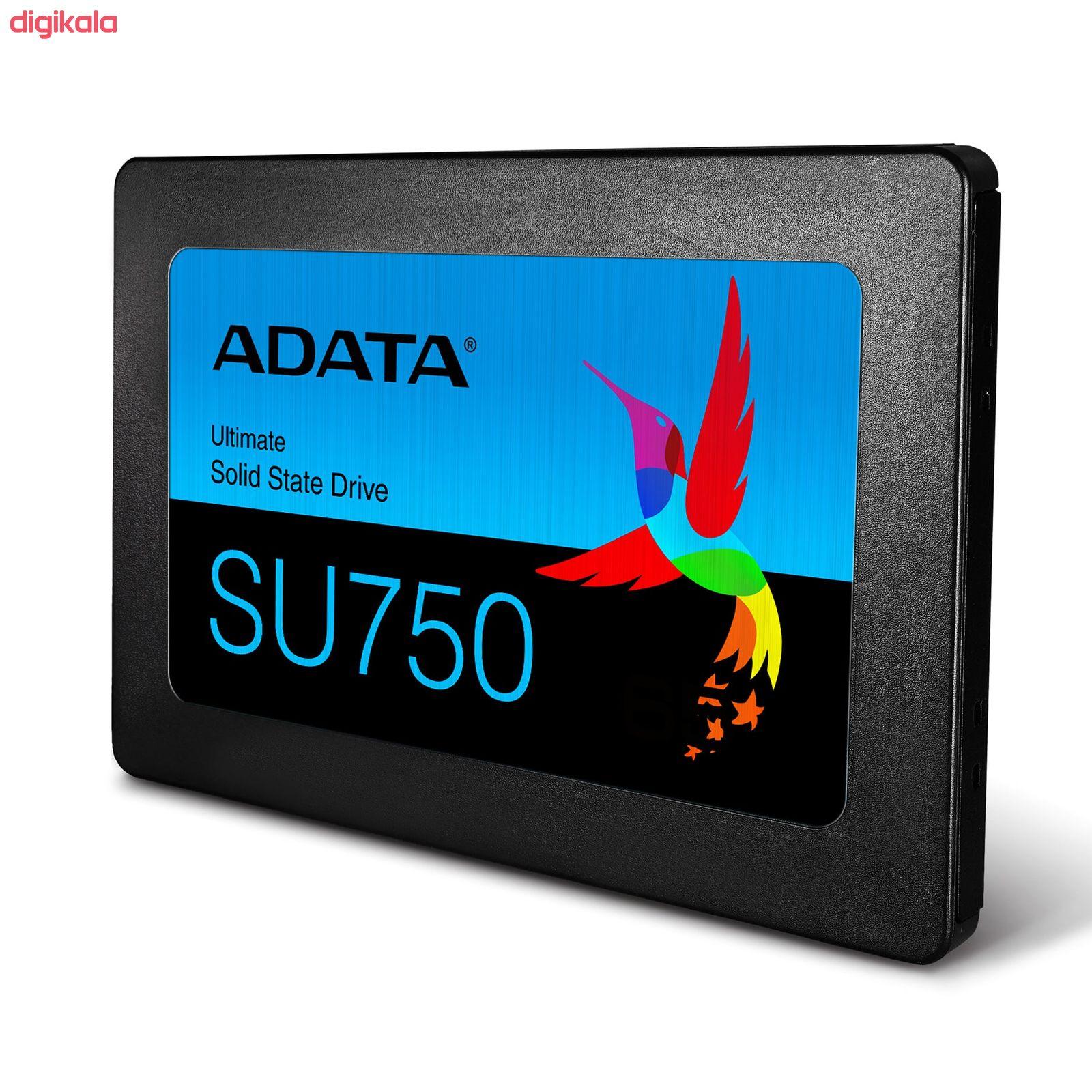 اس اس دی اینترنال ای دیتا مدل SU750 ظرفیت 256 گیگابایت main 1 2