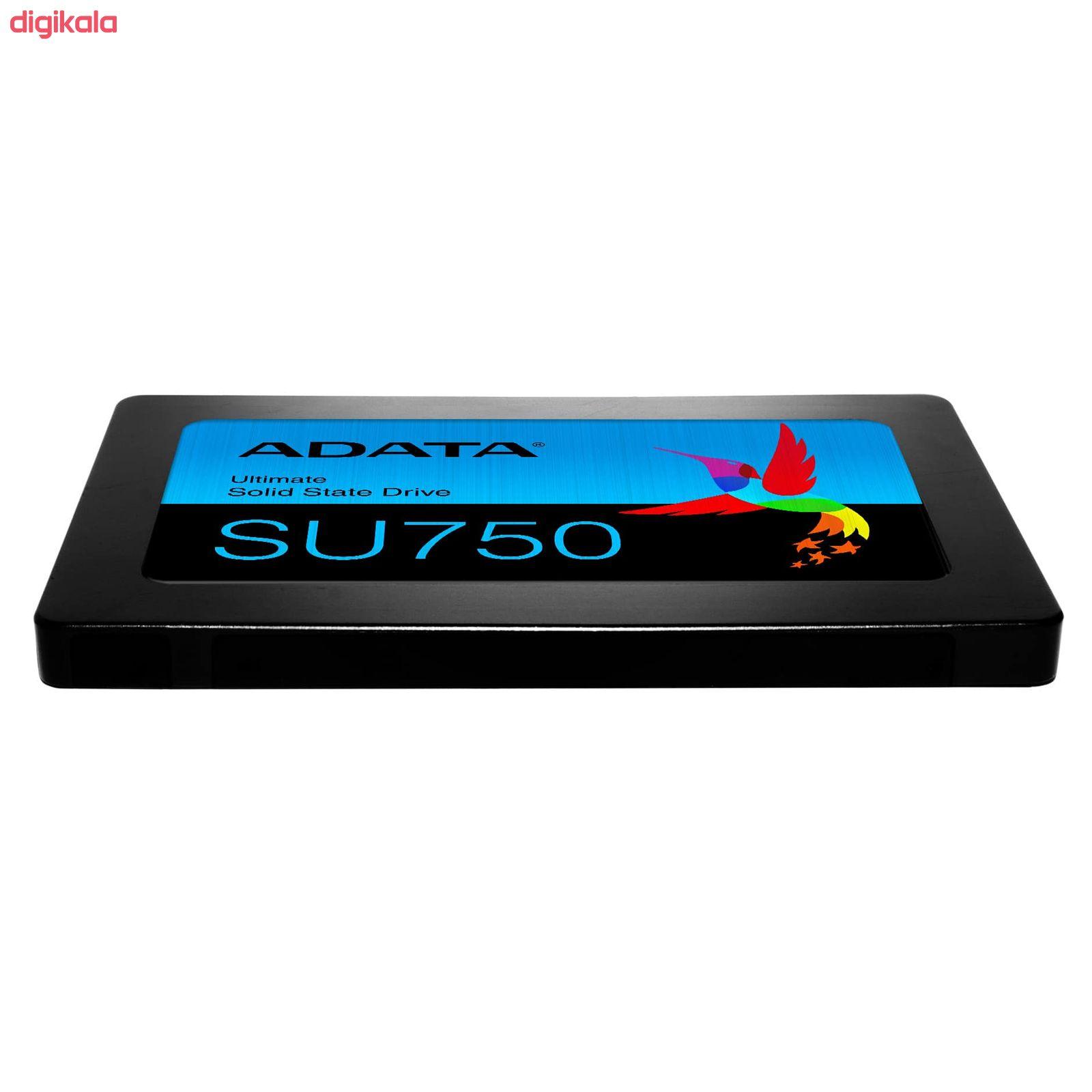 اس اس دی اینترنال ای دیتا مدل SU750 ظرفیت 256 گیگابایت main 1 4