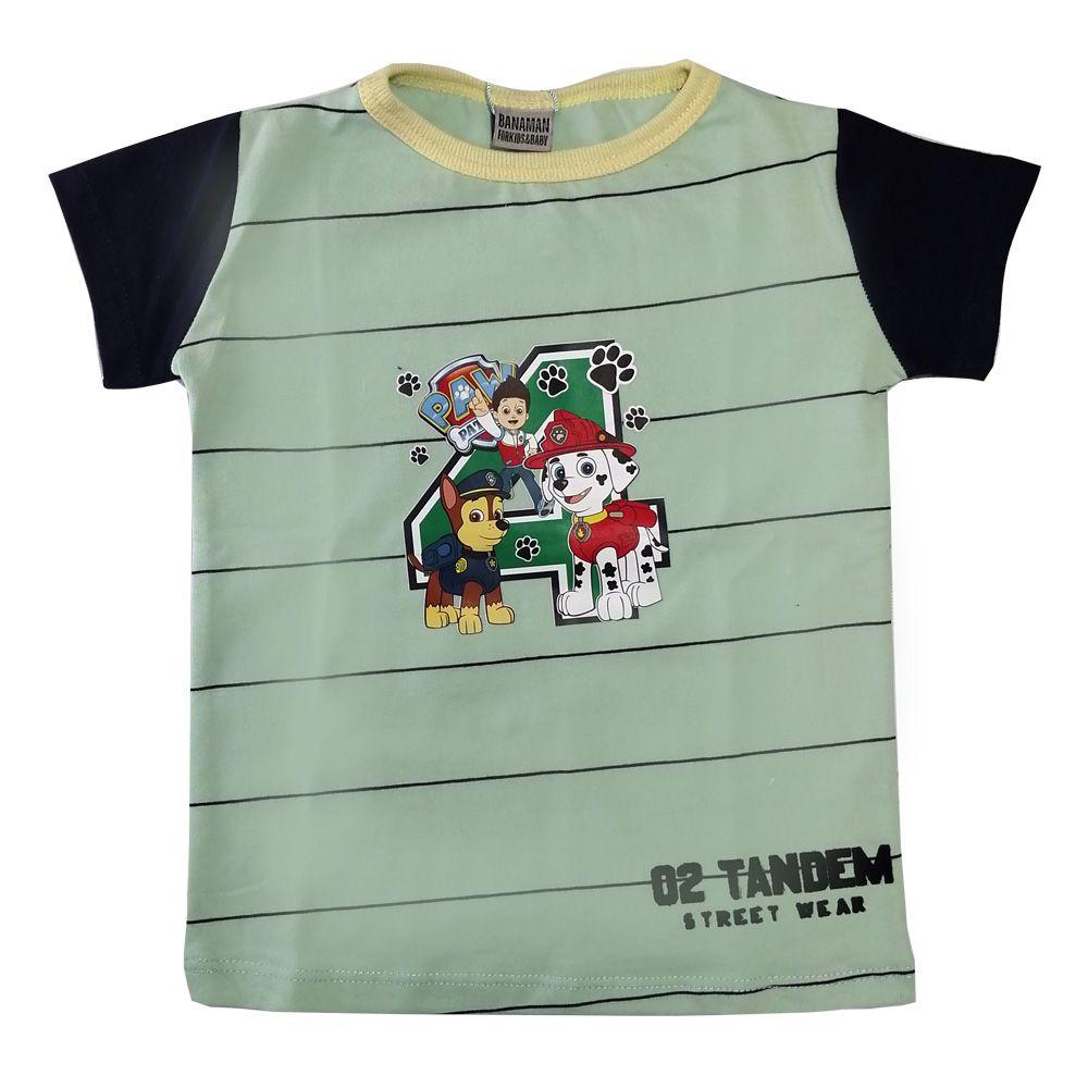تی شرت پسرانه بانامان طرح سگهای نگهبان -  - 1