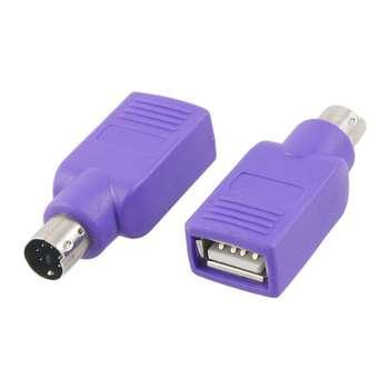 مبدل ps2 به USBمدل 0004 بسته 2 عددی