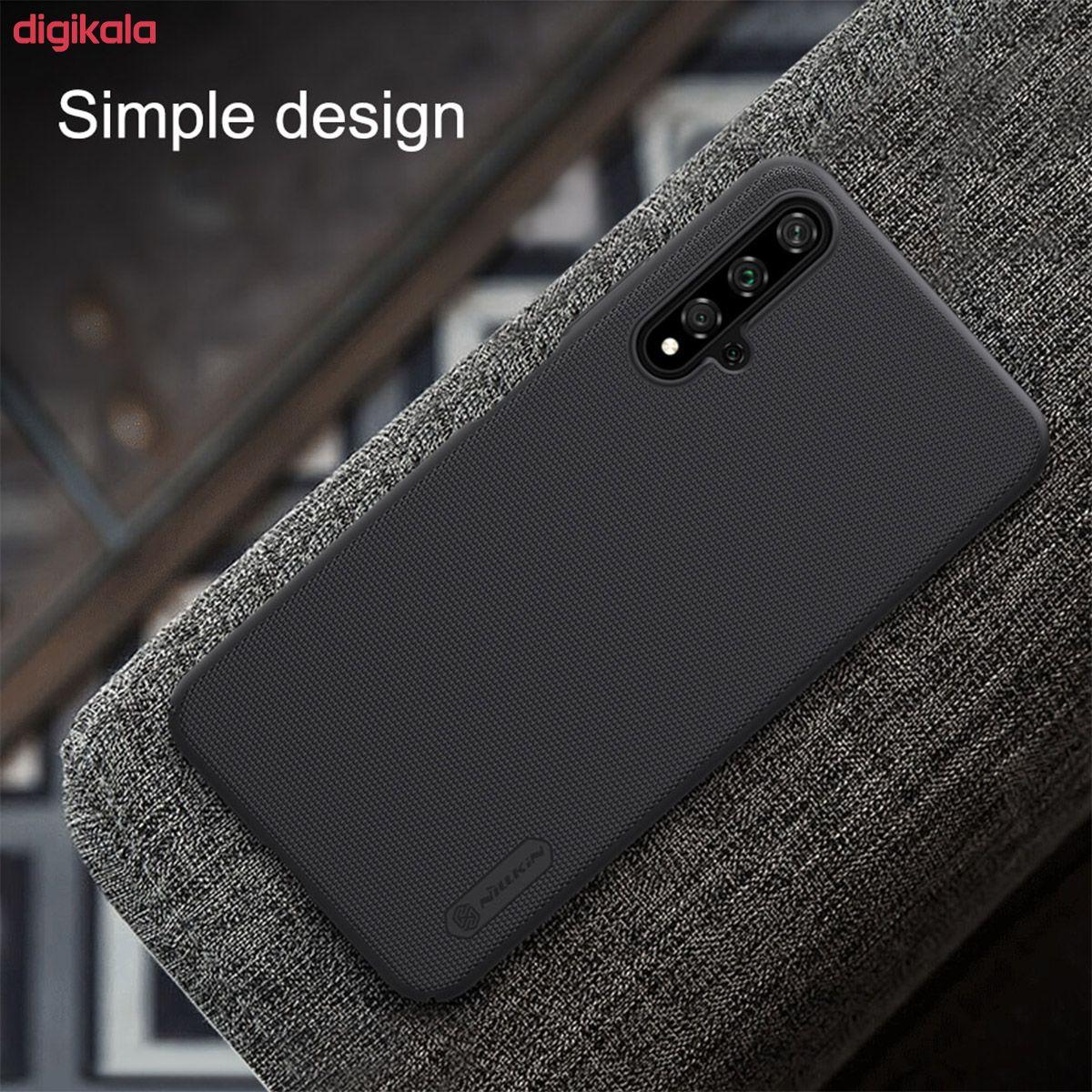 کاور نیلکین مدل Super Frosted Shield مناسب برای گوشی موبایل هوآوی Nova 5T