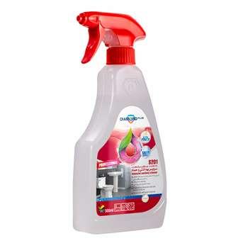 اسپری تمیز کننده سطوح حمام و دستشویی دیاموند پلاس کد S201 حجم 500 میلی لیتر