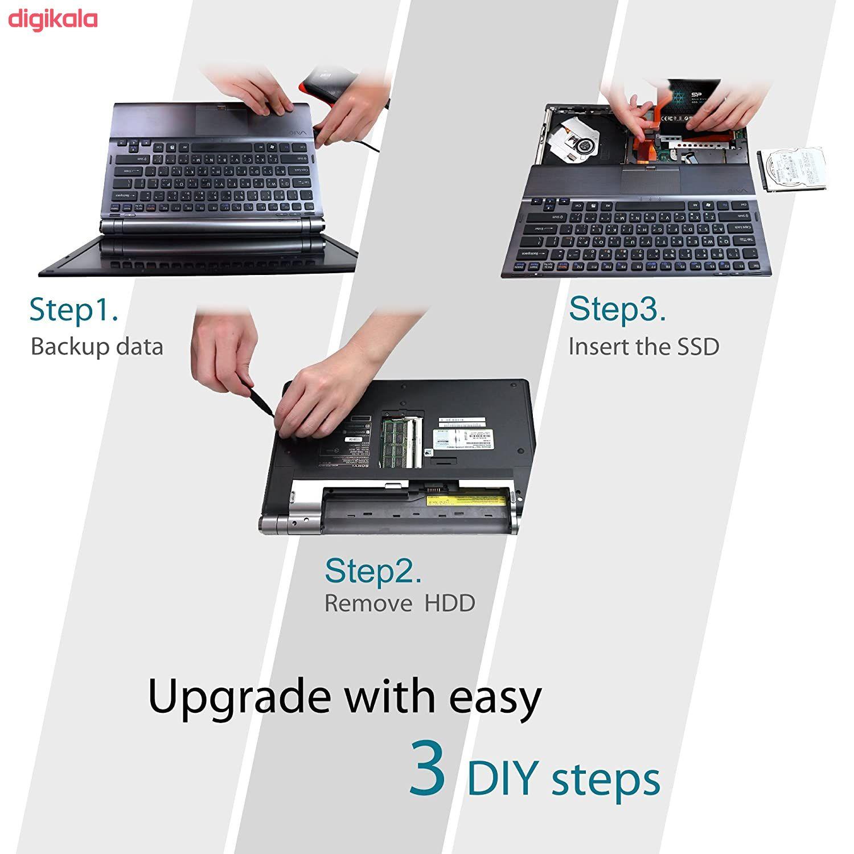 اس اس دی اینترنال SATA3.0 سیلیکون پاور مدل Ace A55 ظرفیت 256 گیگابایت main 1 8
