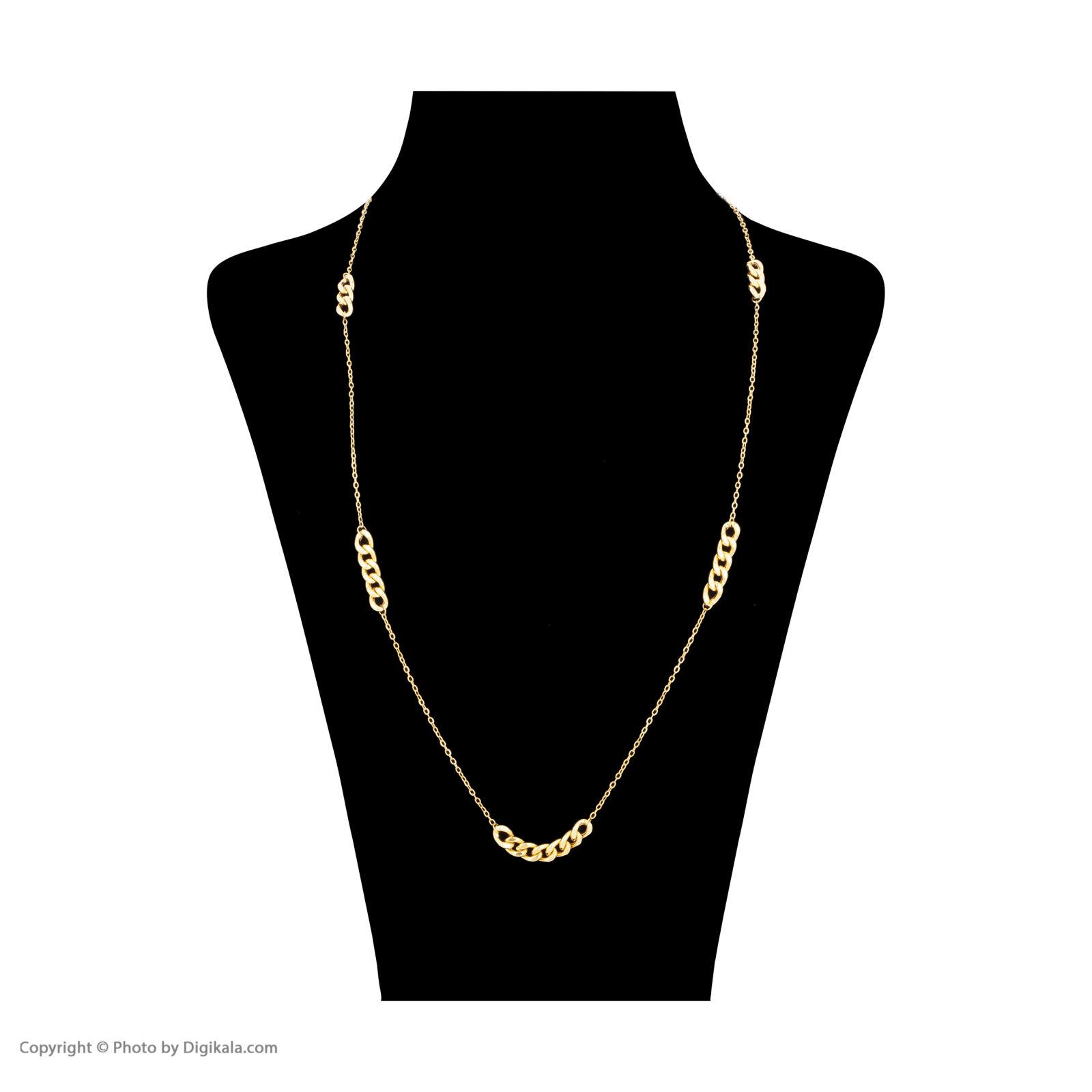 گردنبند طلا 18 عیار زنانه مایا ماهک مدل MM0994 -  - 1