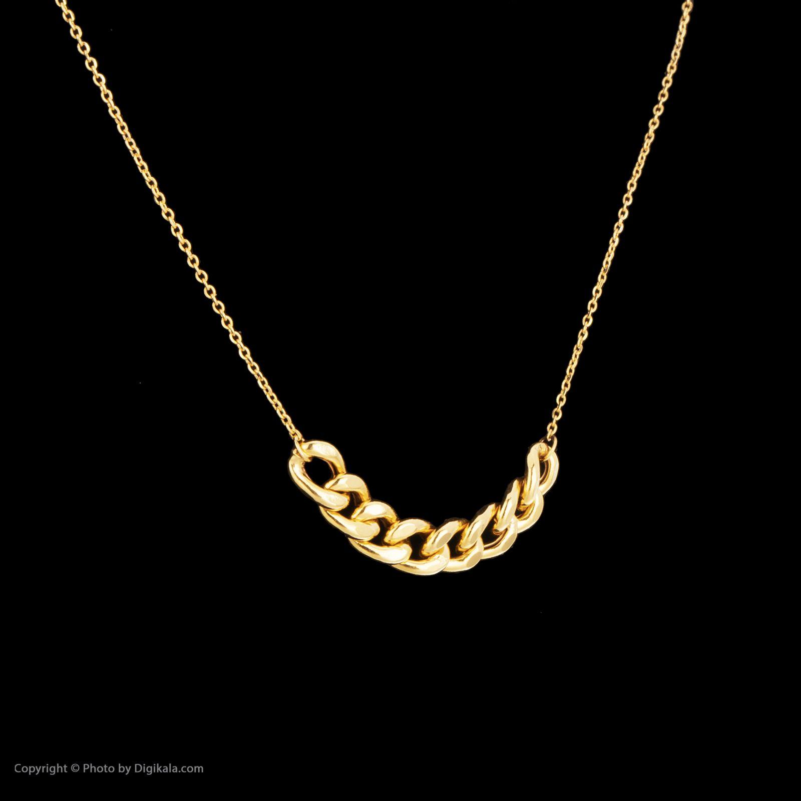گردنبند طلا 18 عیار زنانه مایا ماهک مدل MM0994 -  - 2
