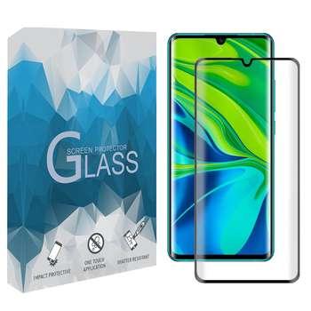 محافظ صفحه نمایش 5D مدل FGSP مناسب برای گوشی موبایل شیائومی Mi Note 10