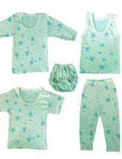 ست 5 تکه لباس نوزادی طرح خرس کوچولو کد 103S -  - 1