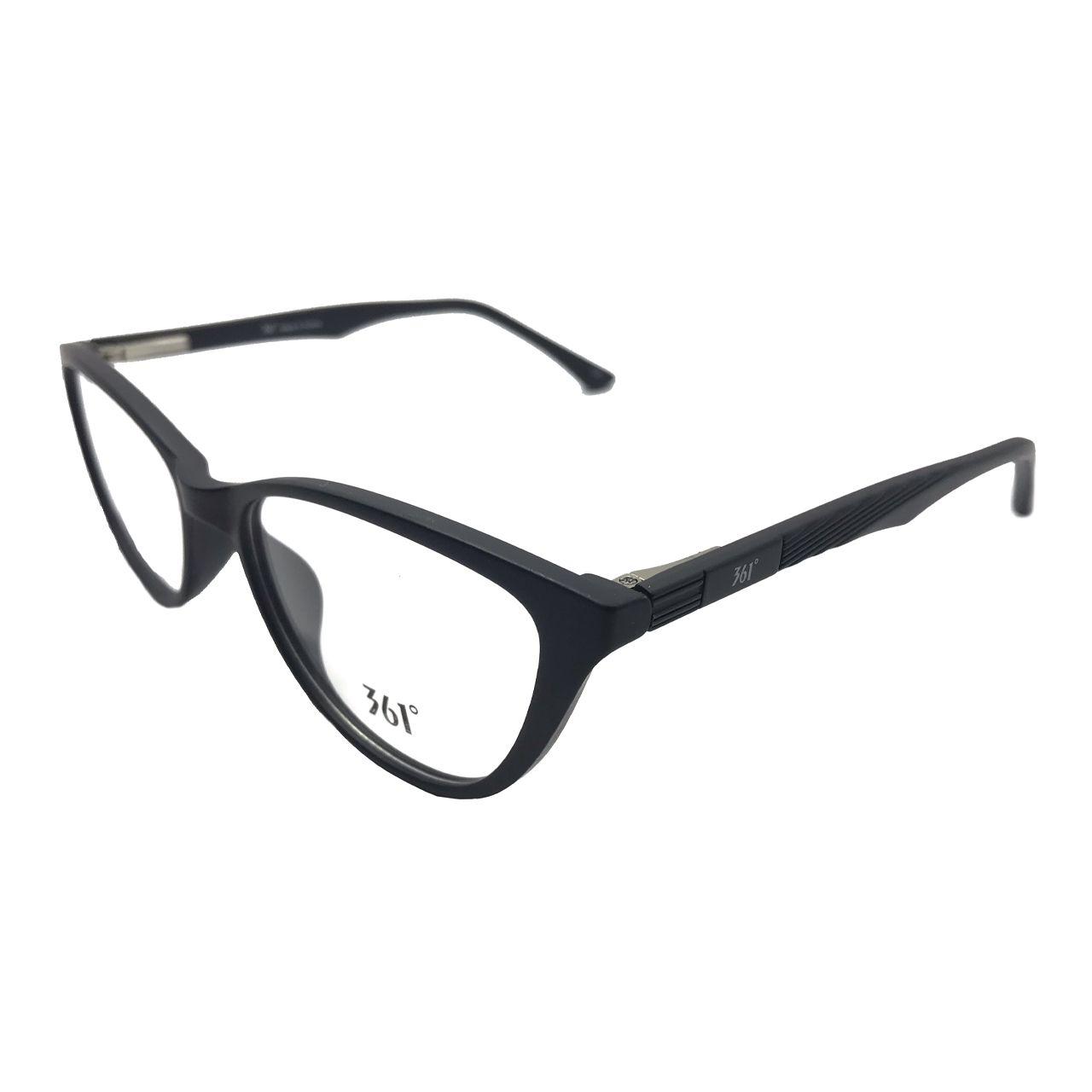 فریم عینک طبی زنانه 361 درجه کد BN350 -  - 2