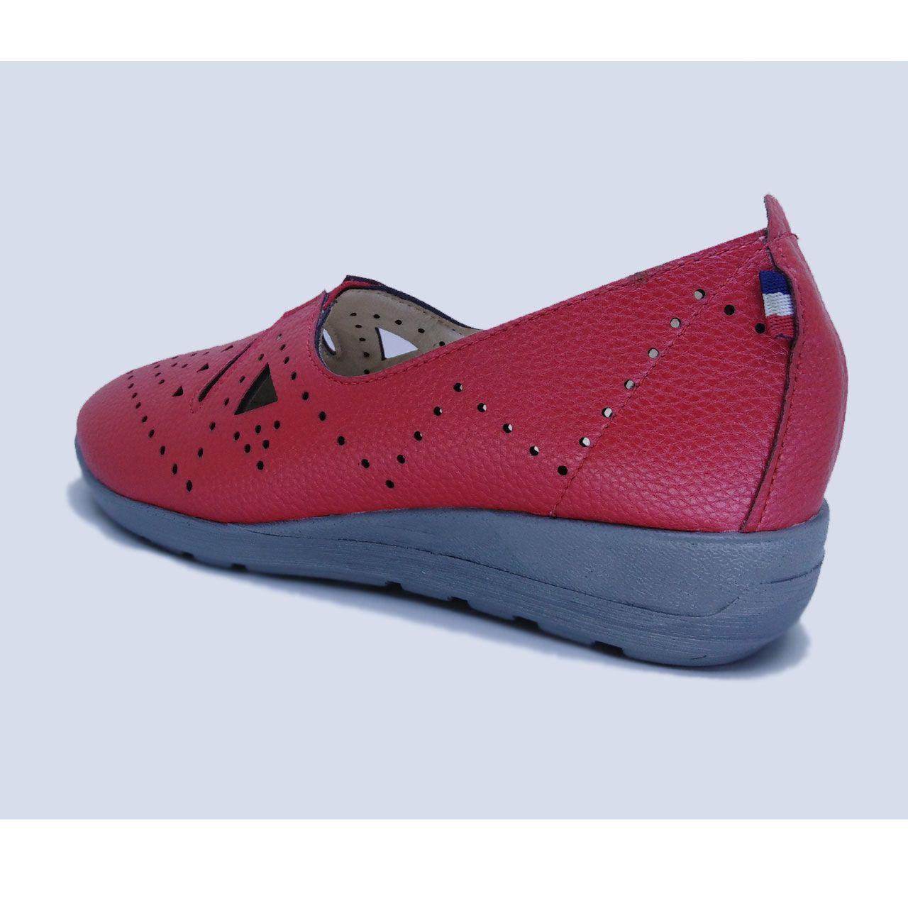 کفش روزمره زنانه مدل بیتا کد L1- 98 رنگ قرمز -  - 1